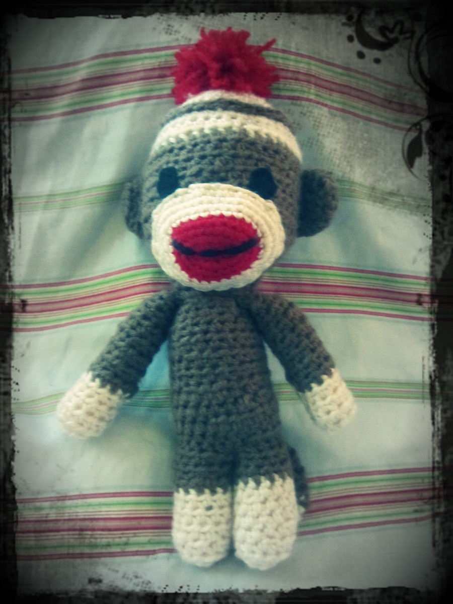 Crochet Sock Monkey