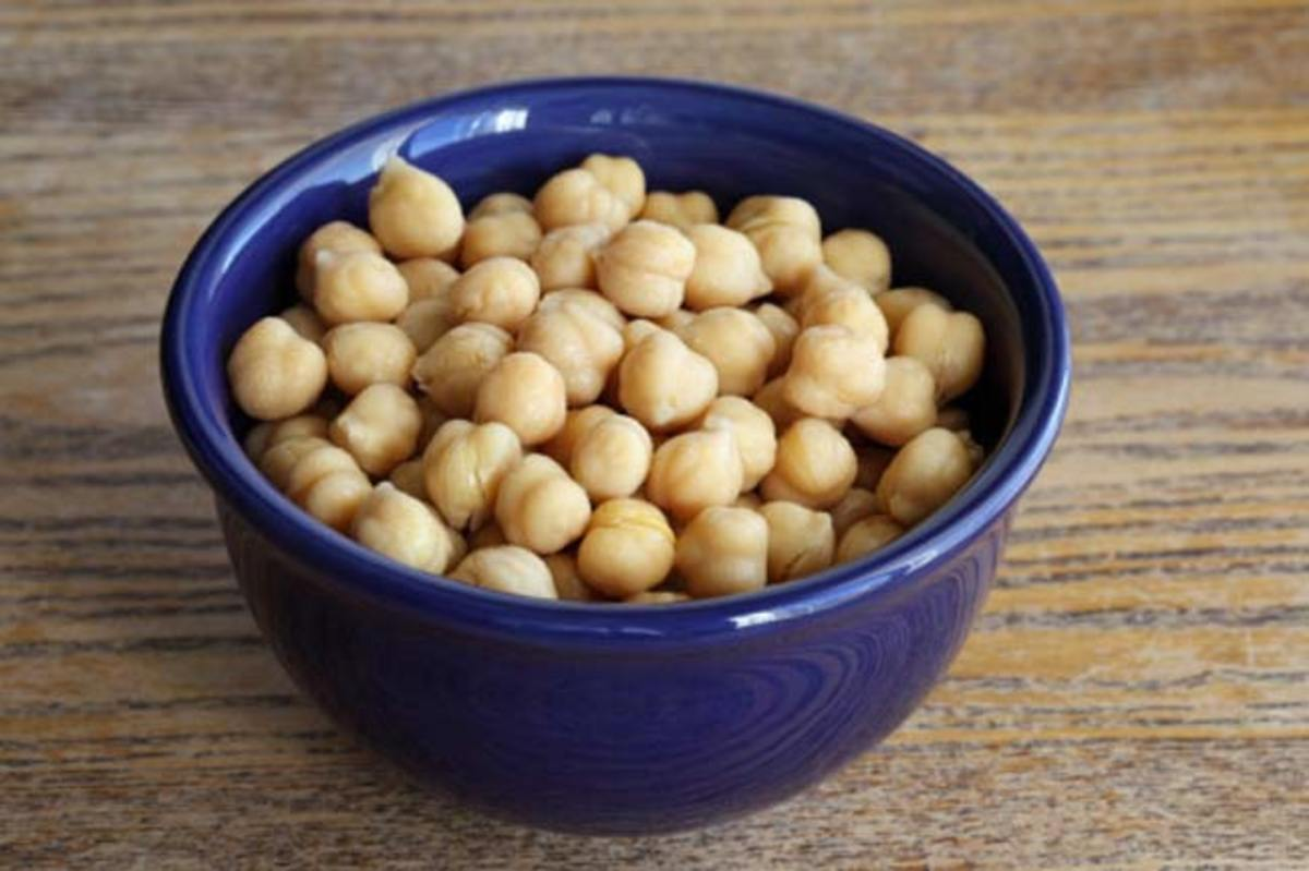 Kabli Chana or chickpeas for bone health