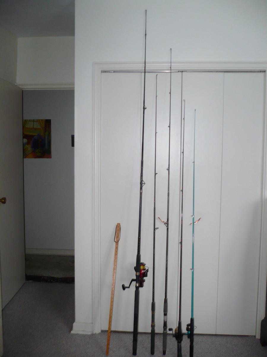 The longer the rod the more flexible it is to cast far distances.