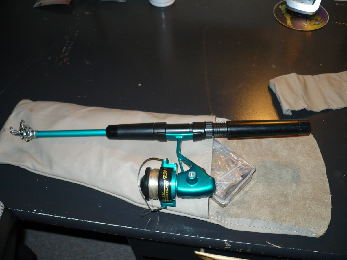 My South Bend Proton  6'6'' telescopic rod is a lot of fun.