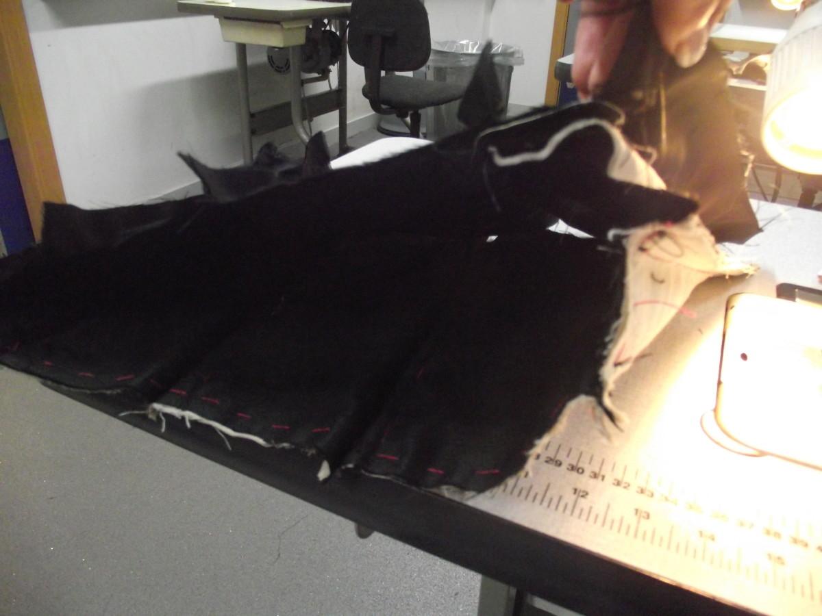 sew along the seam
