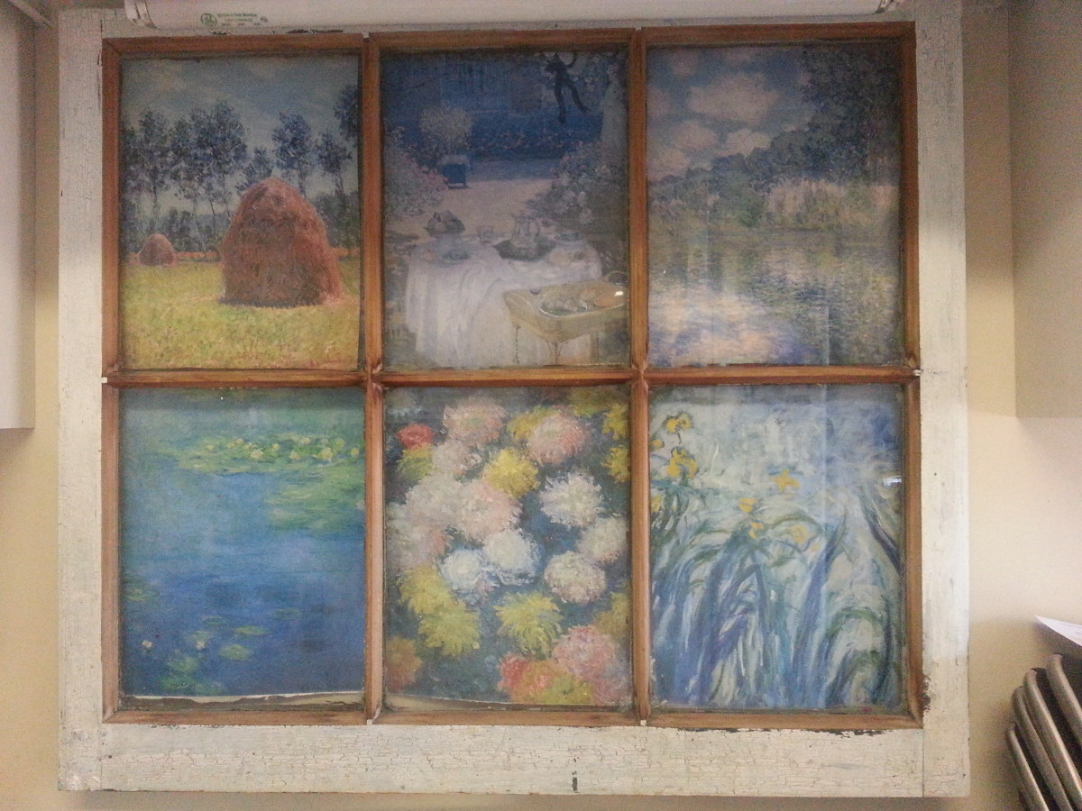 Simple and creative ways to repurpose old windows hubpages for Ways to use old windows