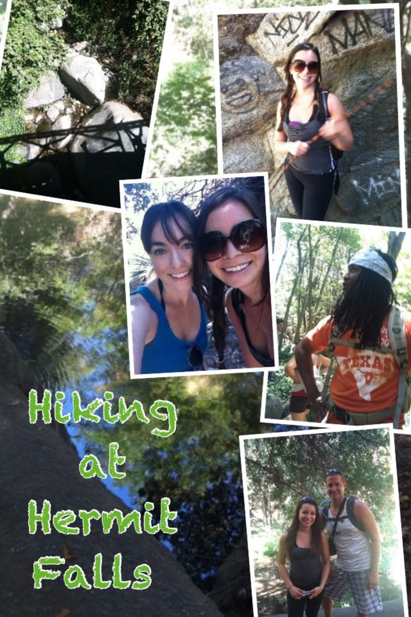 hiking collage by me... summer 2012