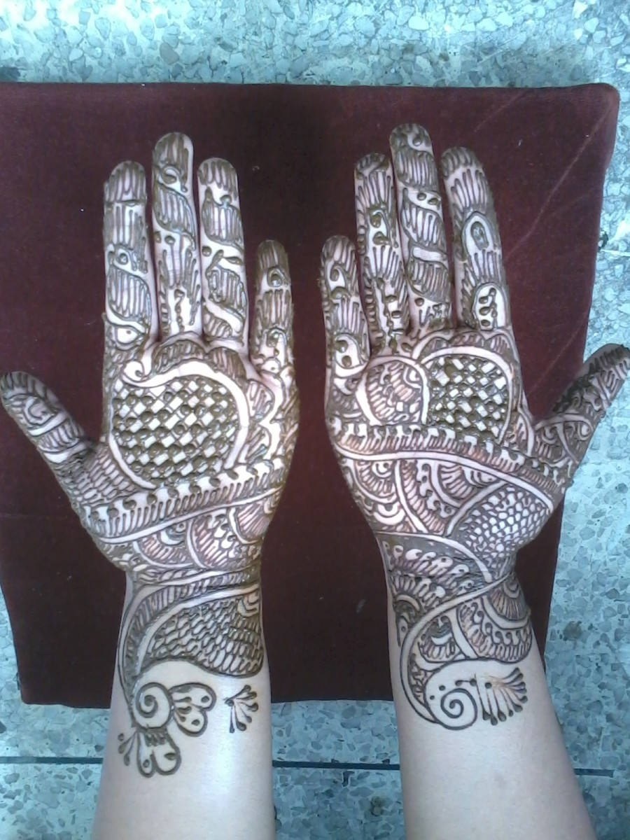 Mehandi Art (Henna) A Tradition Of India: How To Apply Mehandi, Its Significance