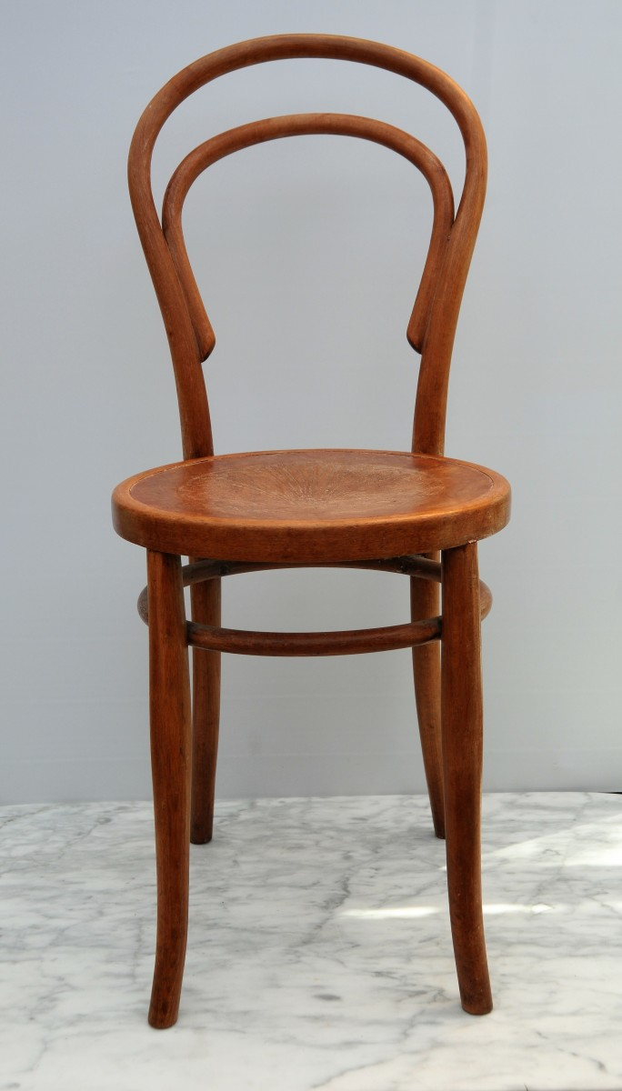 A Vintage Bentwood Chair