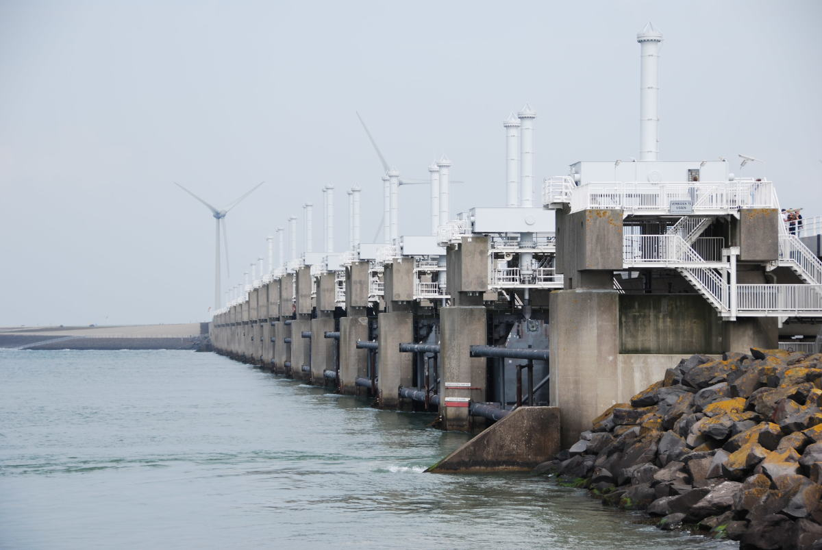 The Delta works in the Netherlands is an engineering marvel...