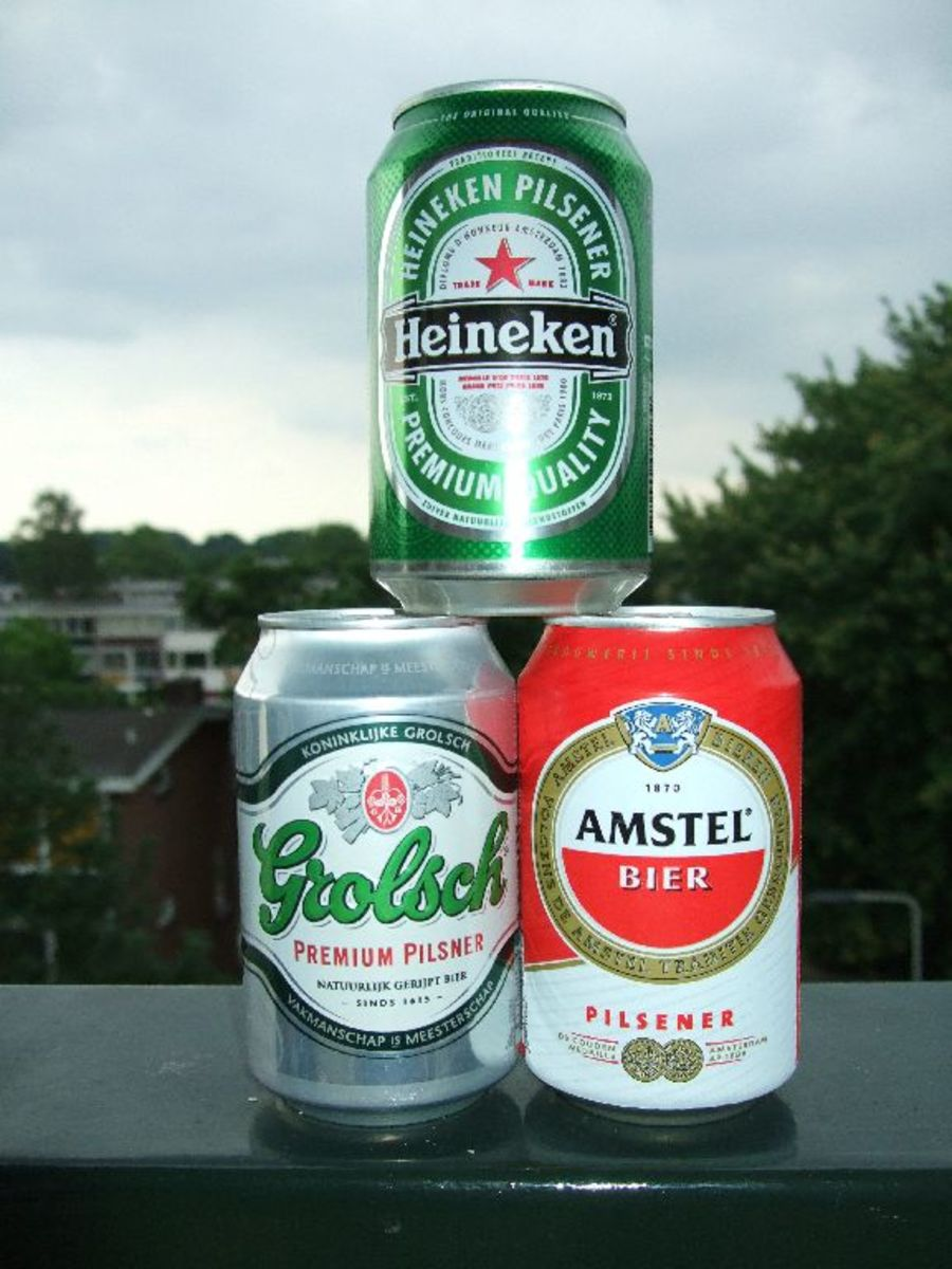 Dutch beer is among the most famous in the world..