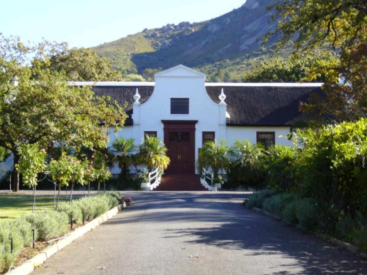 Strooidak NGK parsonage, Paarl, South Africa