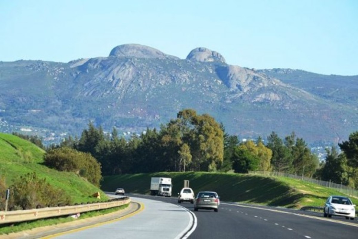 The Paarl Mountain, Western Cape, South Africa