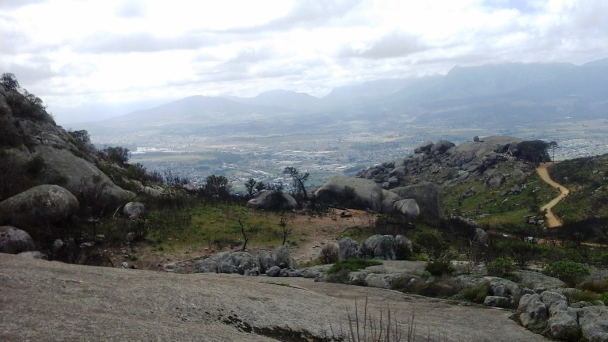Paarl Rock, Western Cape, South Africa