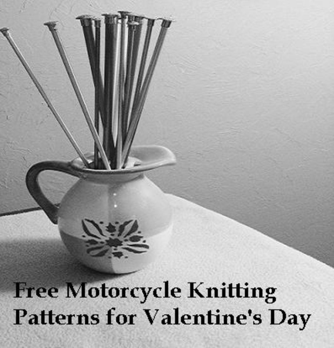 Get your materials and knit your man something for Valentine's Day this year!