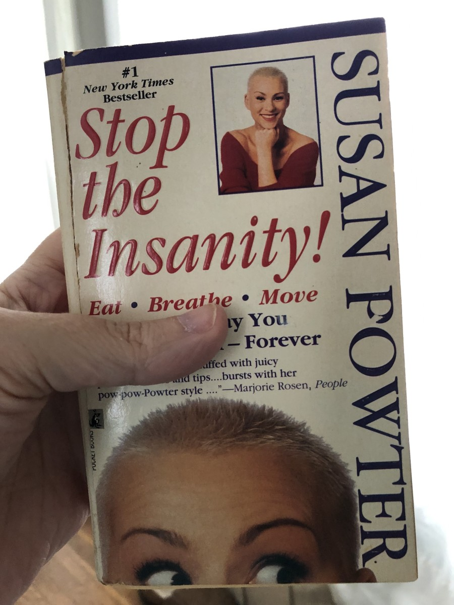 My well-worn copy of Stop the Insanity.