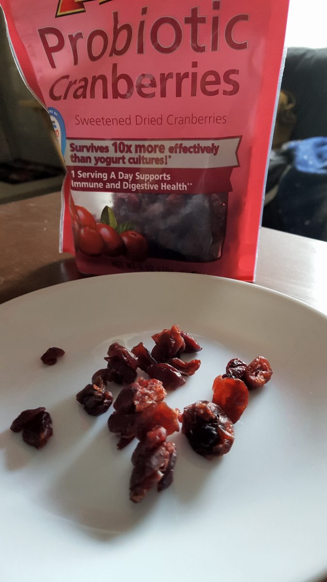 Probiotic cranberries