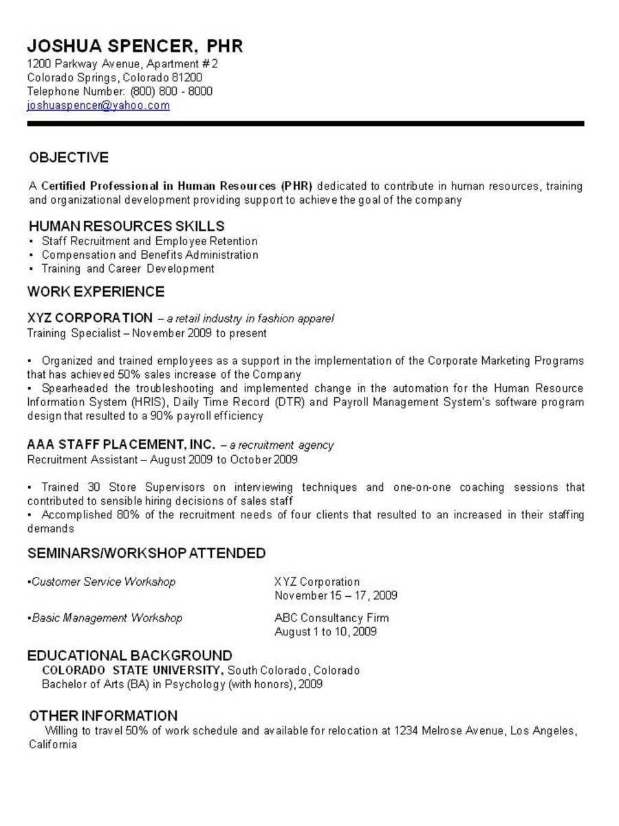 resume Three Types Of Resumes resumes types resume samples of formats examples and format simple for
