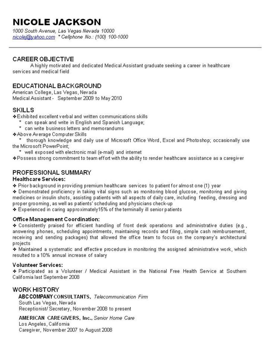 free homemaker resume template