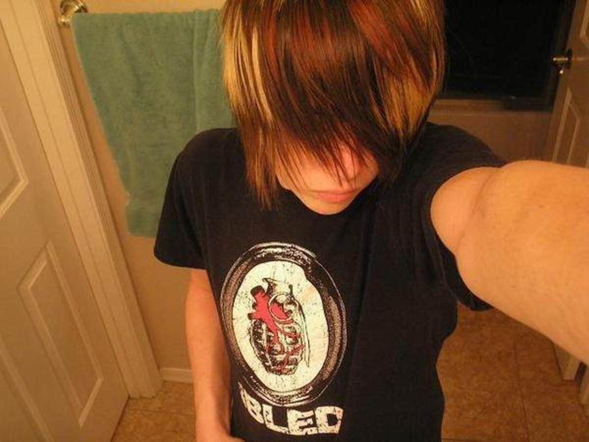 Do you ever look at pictures of emo people and just wonder how they get