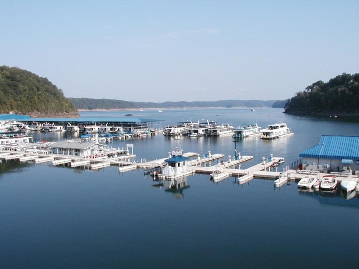 Lake Cumberland Jamestown marina