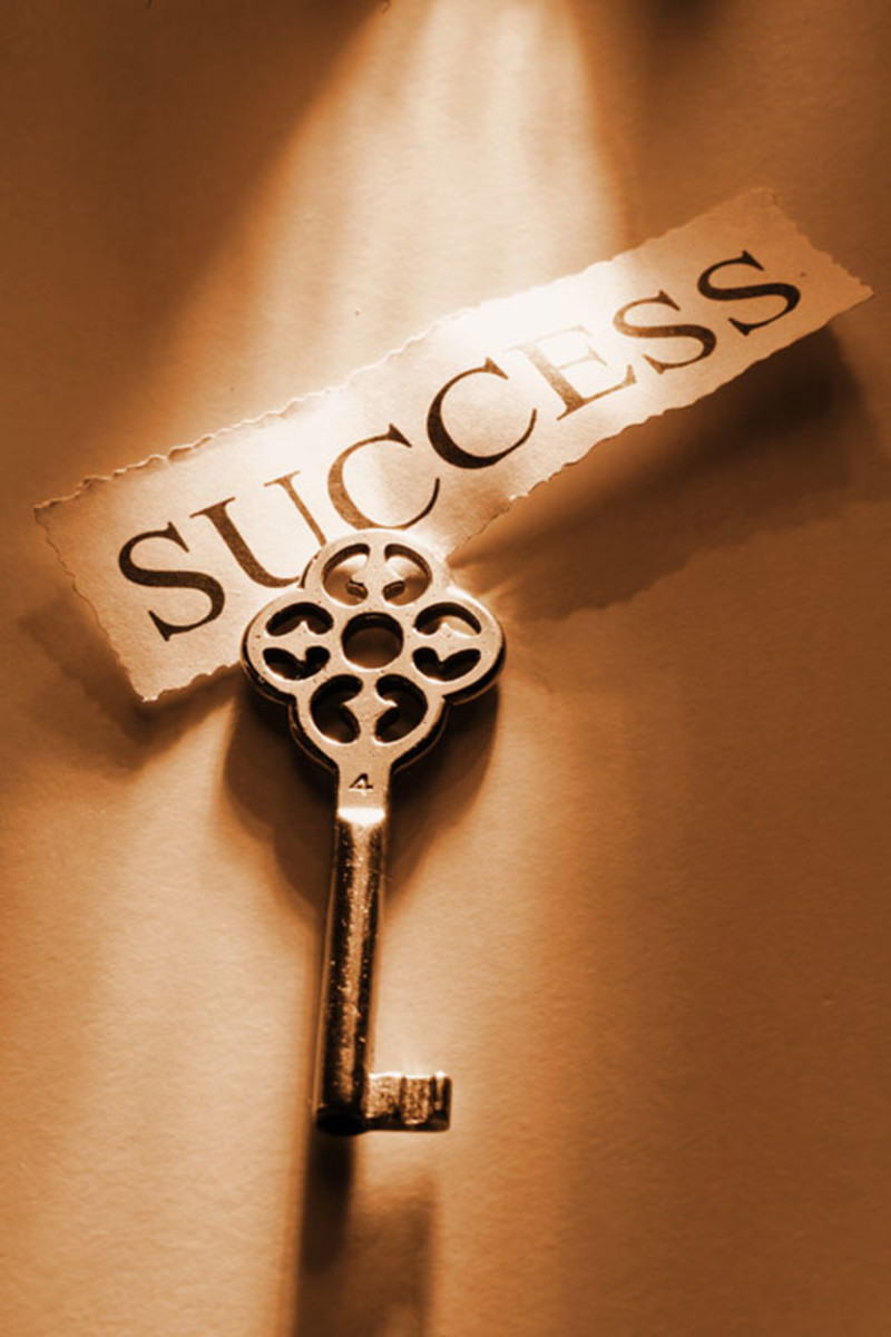 You hold your key to success.