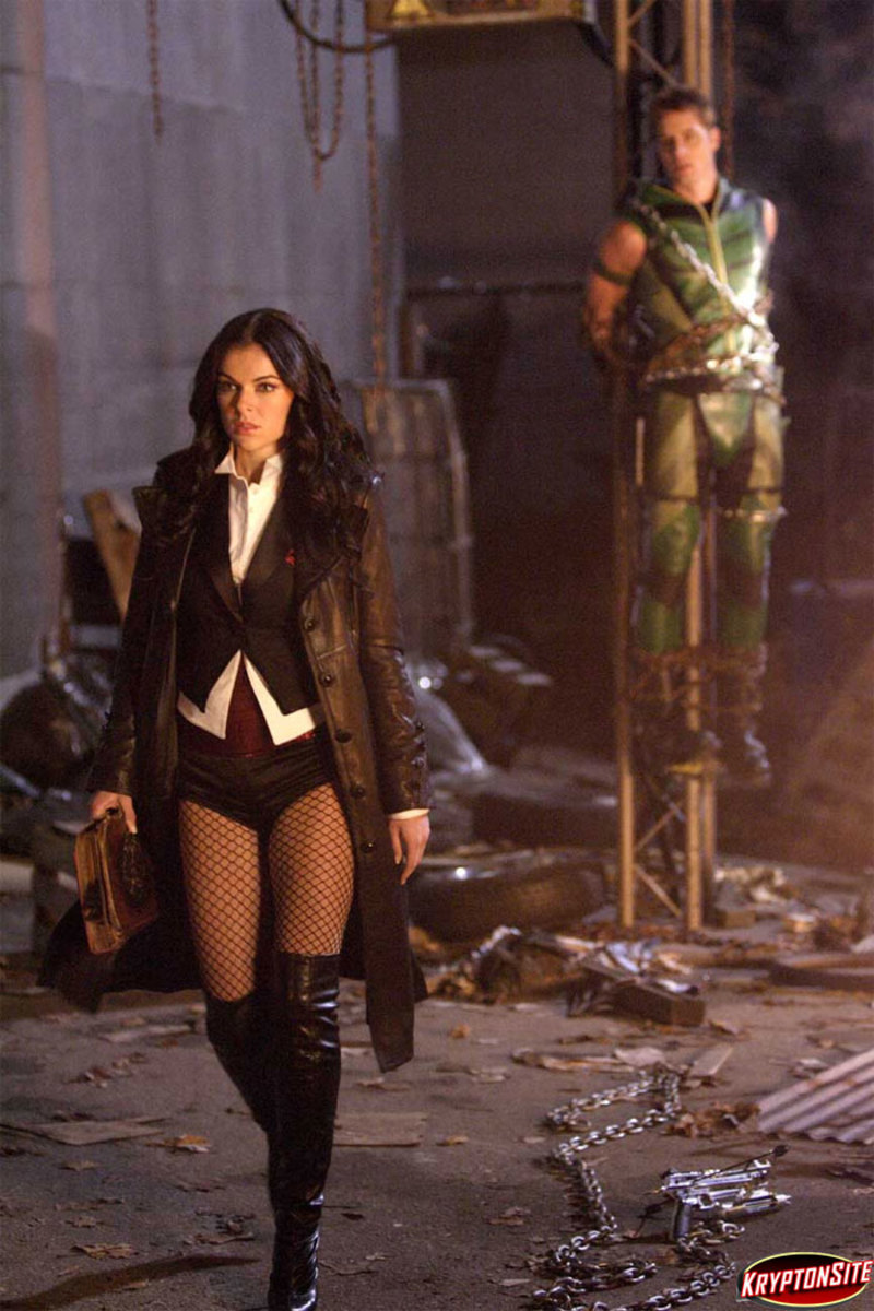 Z is for Zatanna, the beautiful magician played by Serinda Swan