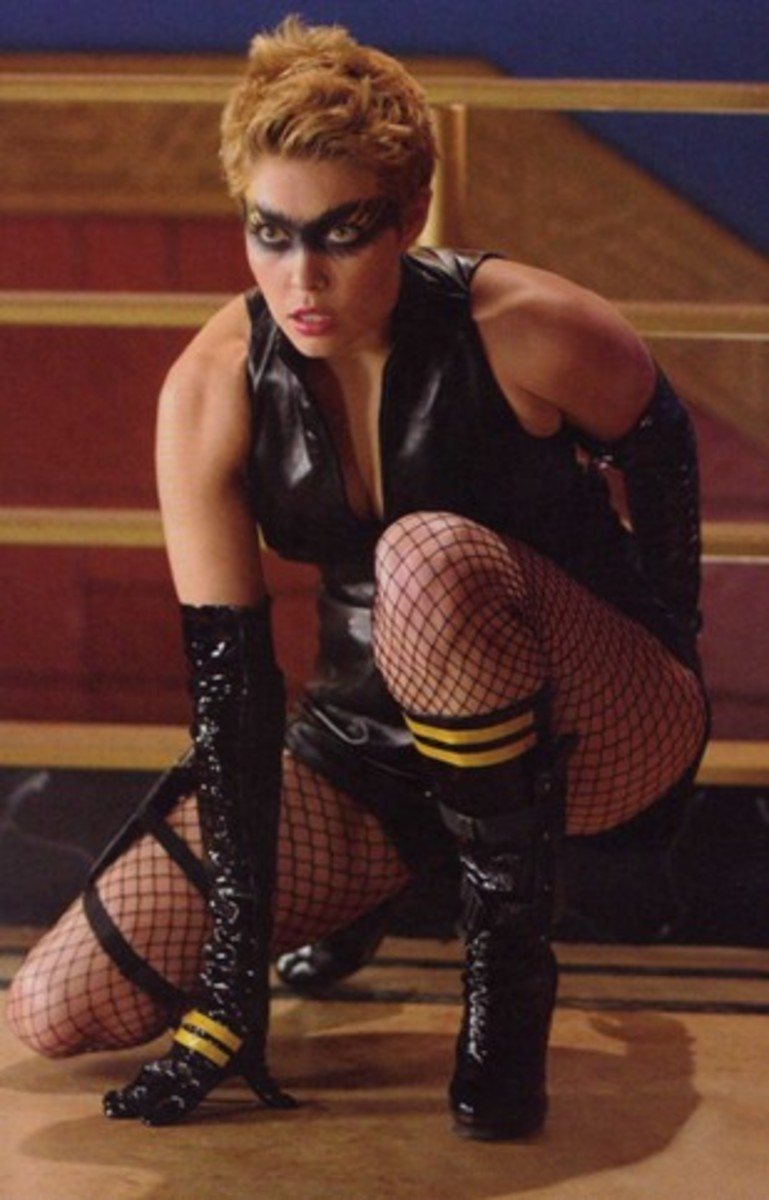 Alaina Huffman was the Black Canary, a member of the Justice League of America