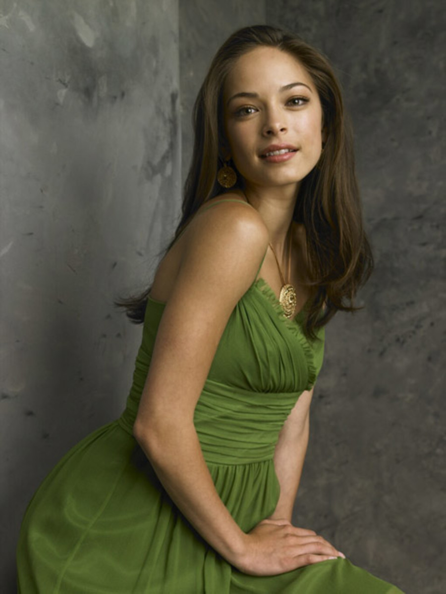 Kristin Kreuk played Lana Lang, Clark's first love