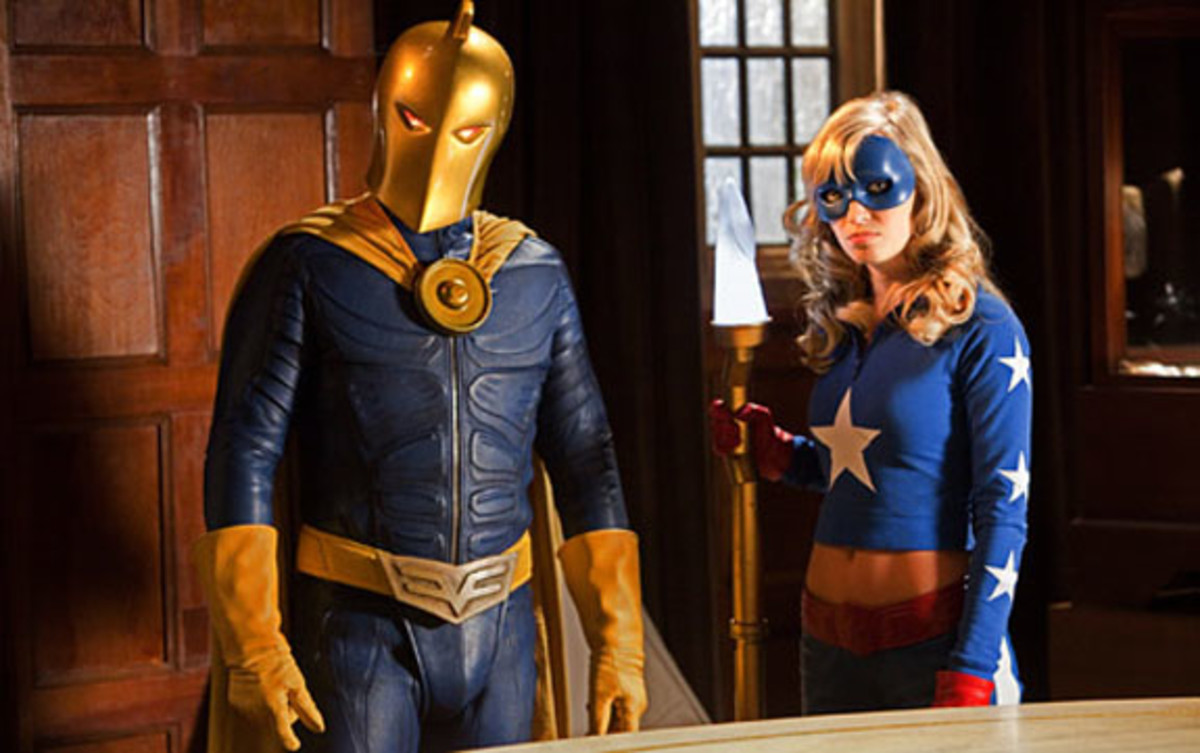 Stargirl was mentored by members of the Justice Society of America