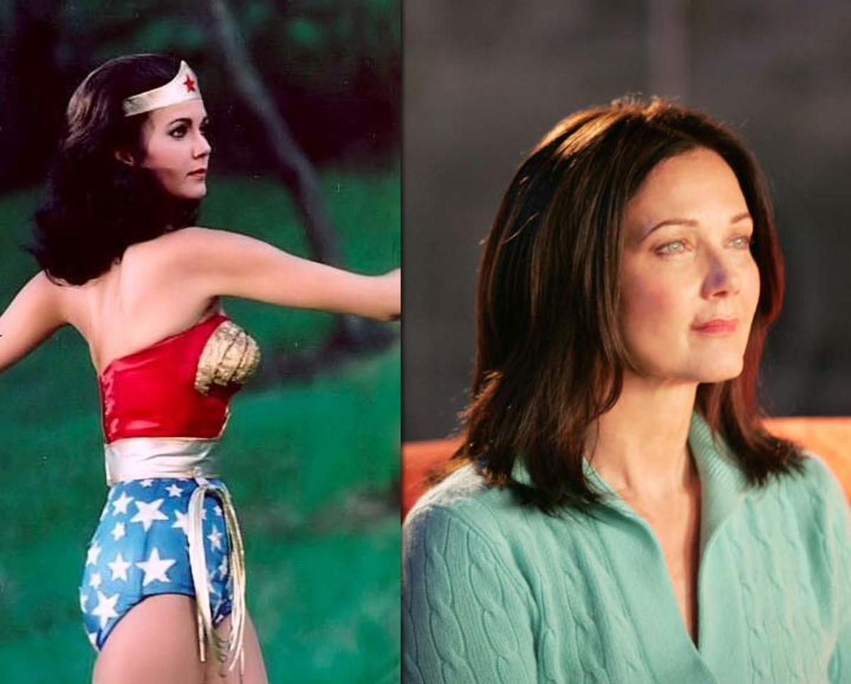 Chloe's mother was portrayed by Lynda Carter, better known as Wonder Woman