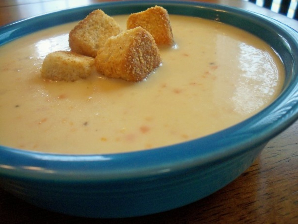 Curt's Brewhaus Beer Cheese Soup