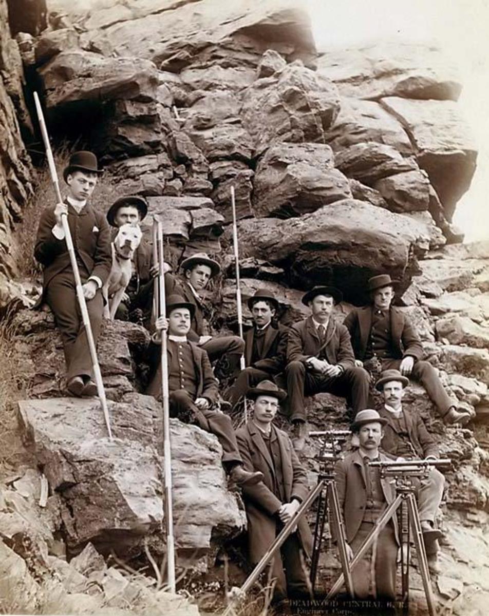 Deadwood Rail Road Surveyors