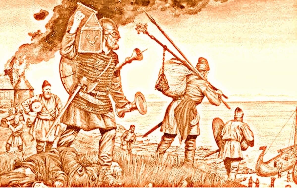 Viking Raiders Soon Settled England.