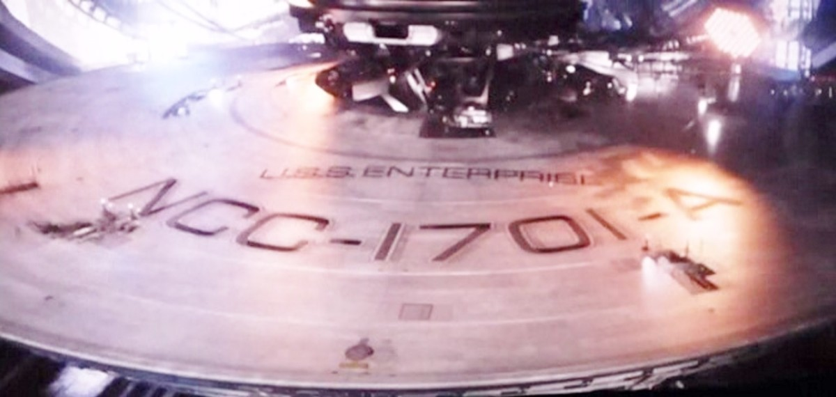 The New NCC-1701-A Saucer Section!