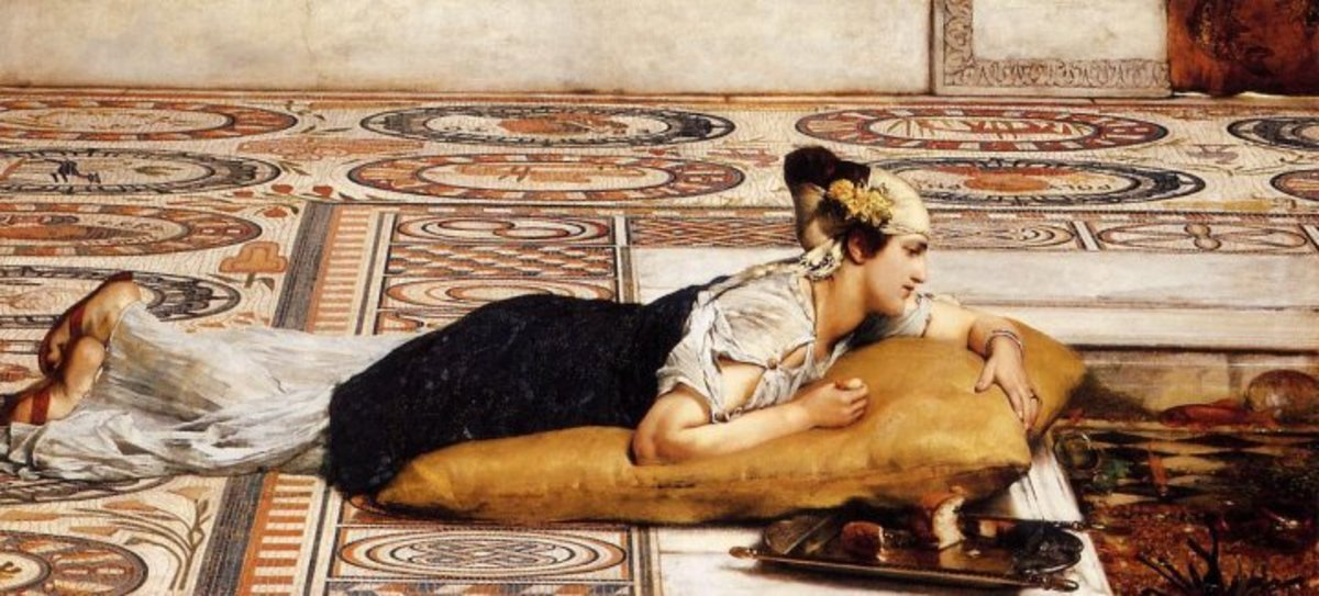 The work of Sir Alma-Tadema, or the Victorian Classicism