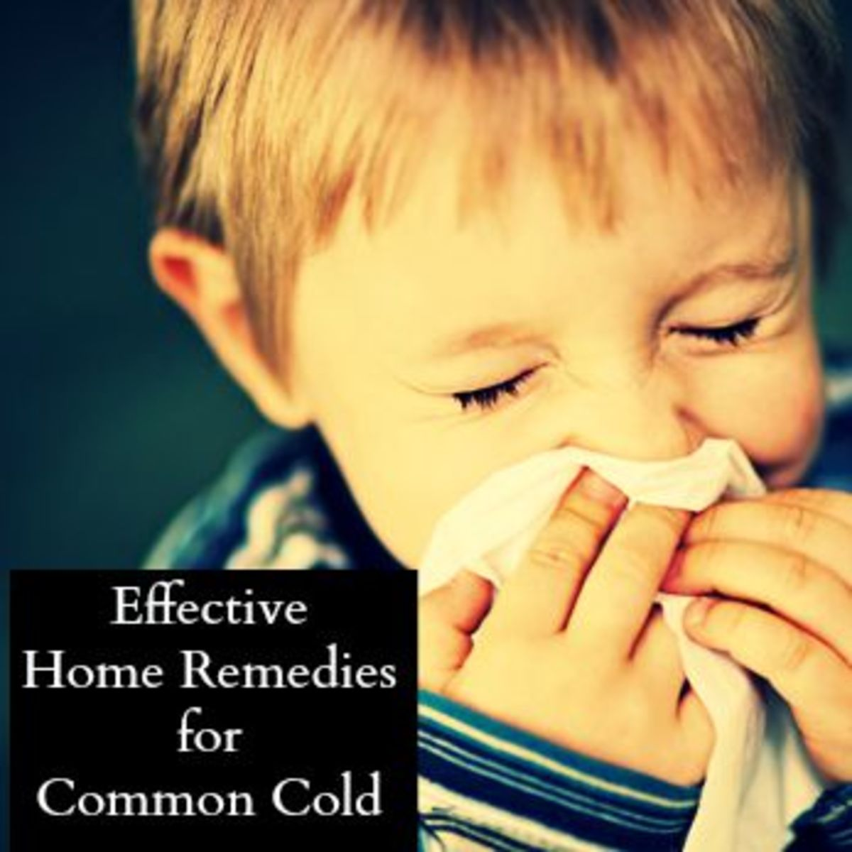 Easy Home Remedies to Treat Stuffy Nose or Common Cold