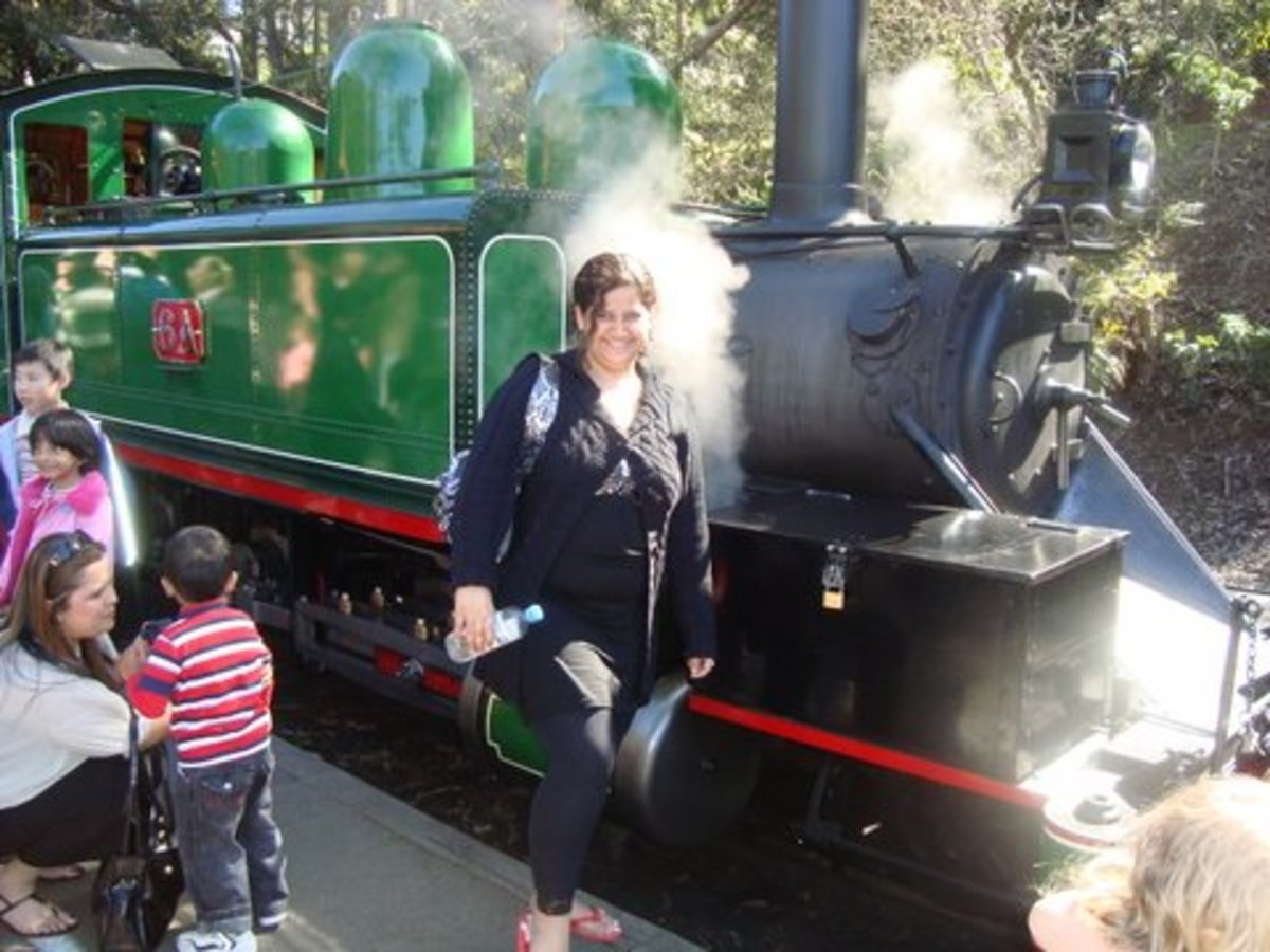 Puffing Billy Engine