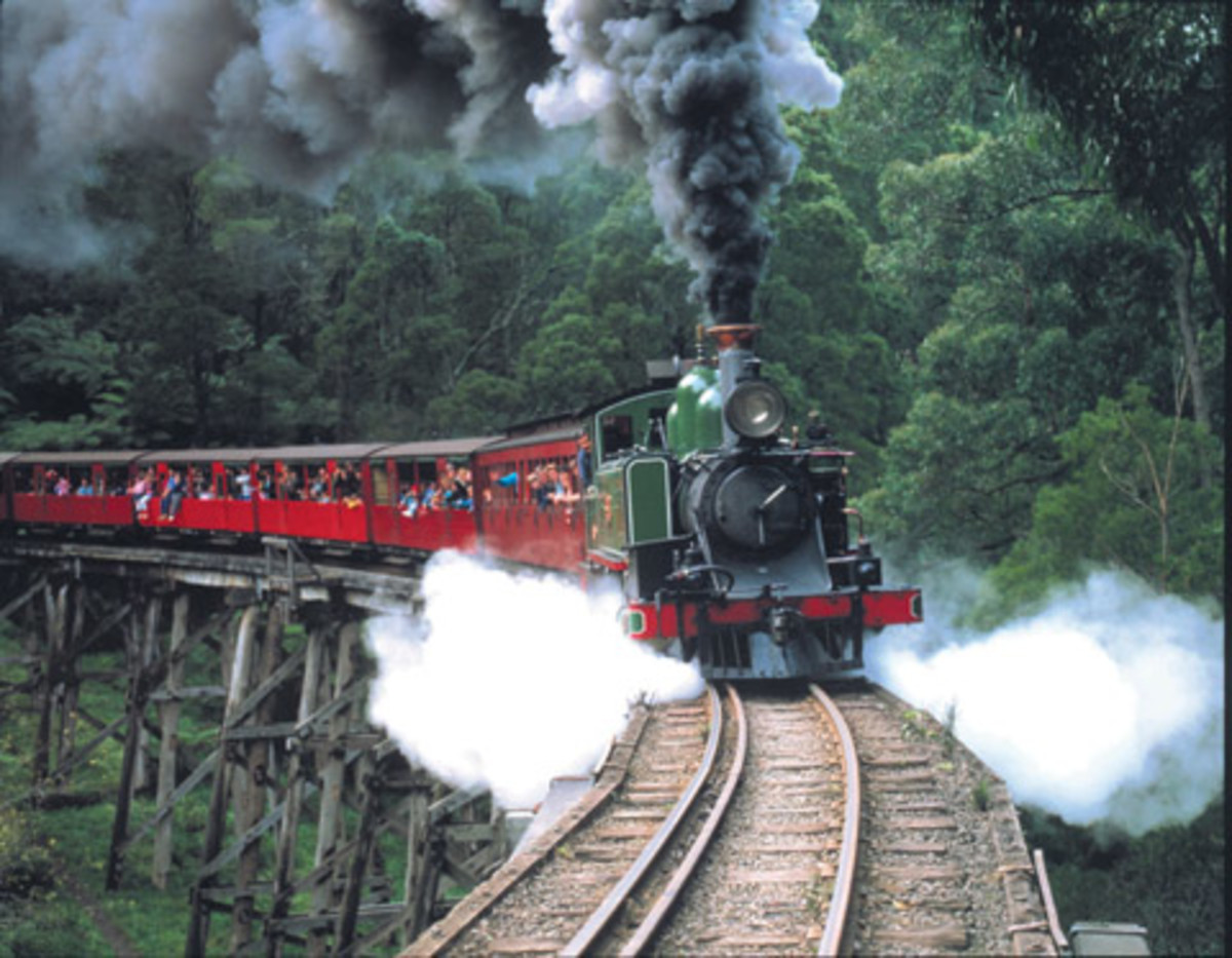 Puffing Billy... A Bond between Past and Present