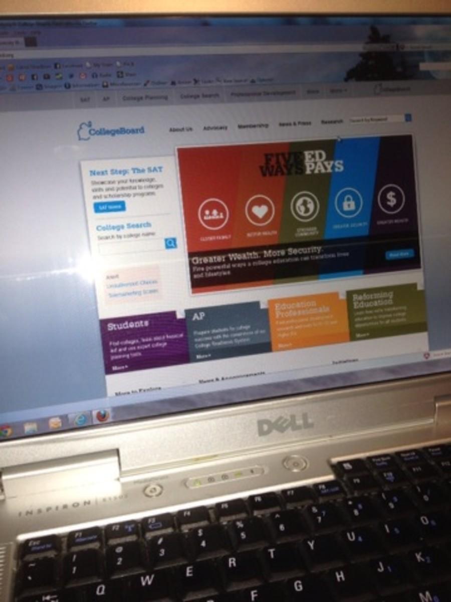 Get a copy of your SAT scores online!