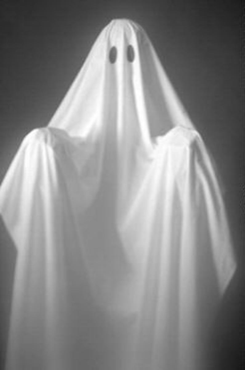 In a haunting, hope for a friendly ghost.