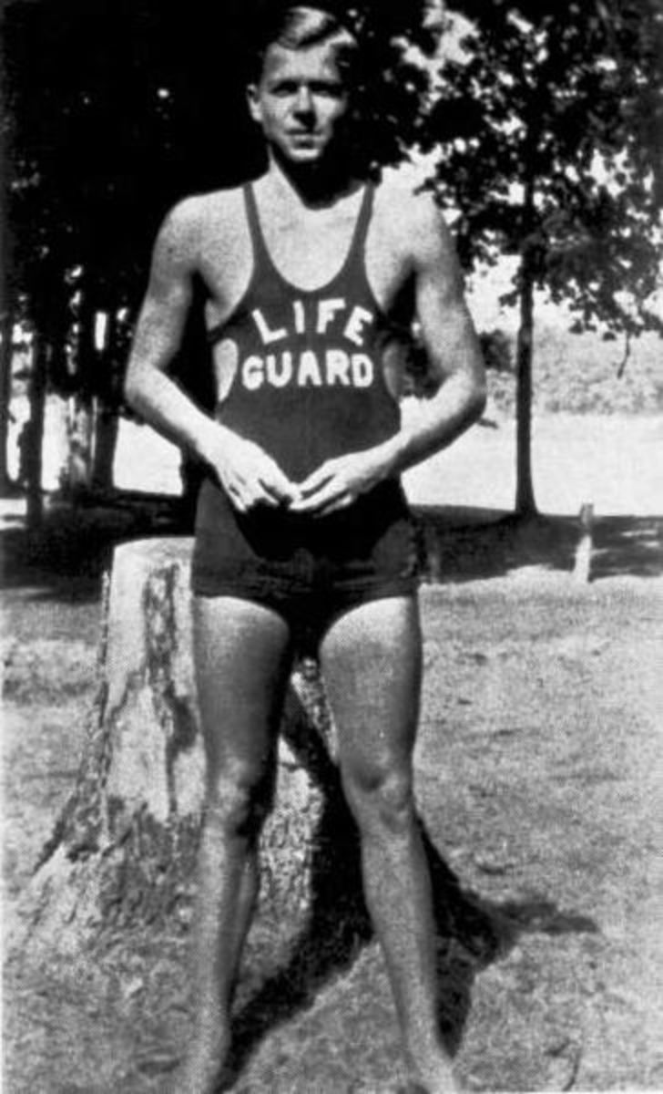 Ronald Reagan Lifeguarding in Lowell Park