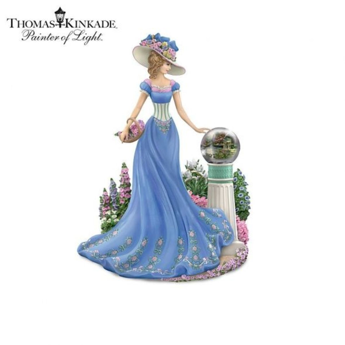 There are hundred's of Thomas Kinkade figurines besides this garden one.