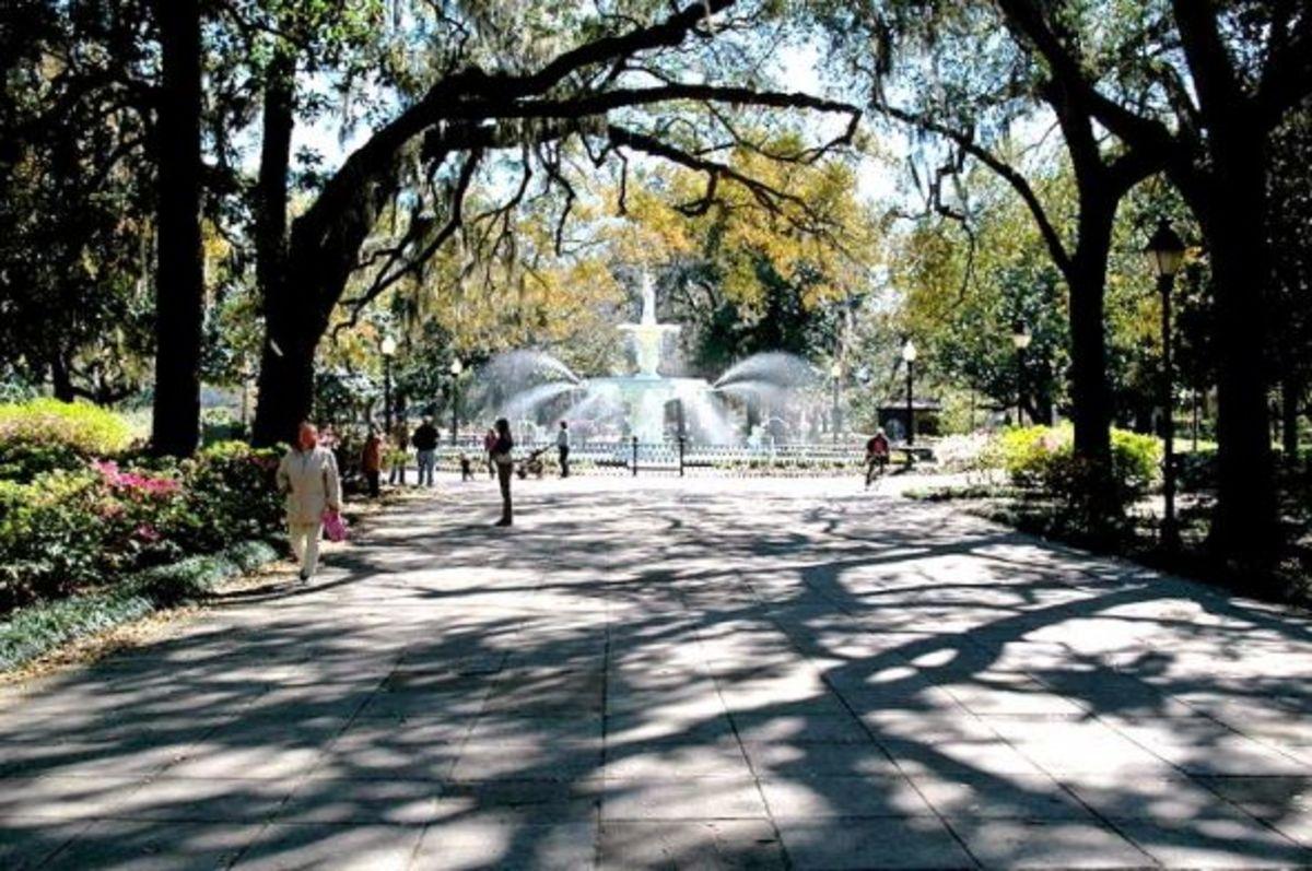 SavannahPark Entrance
