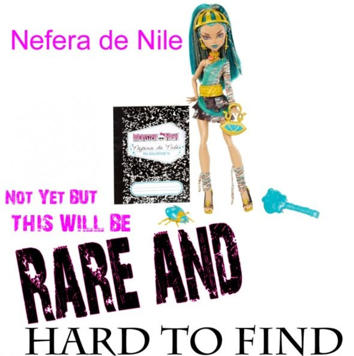 Nefera De Nile Collectible Monster High Doll