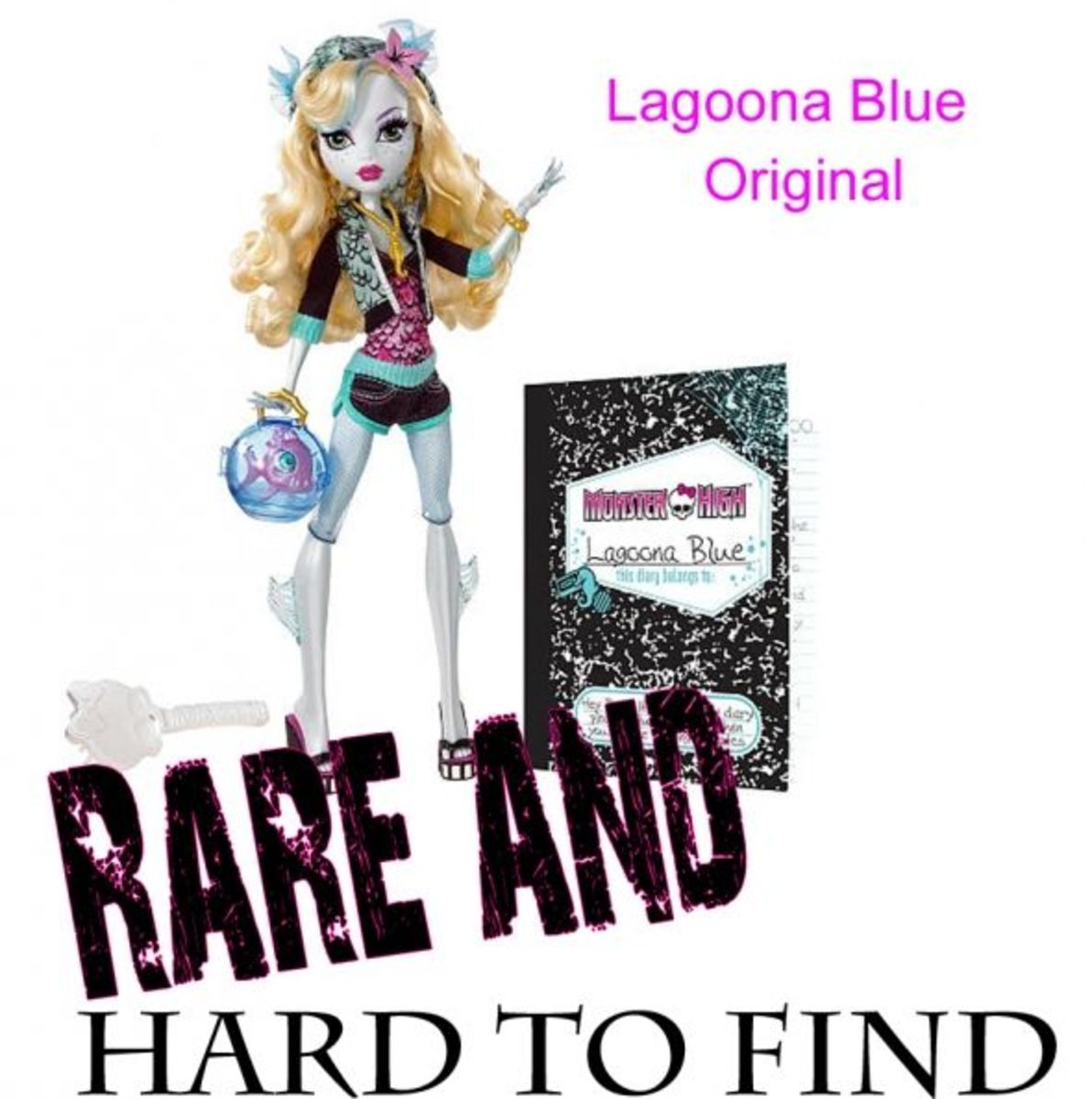 Lagoona Blue Monster High Collectible Doll