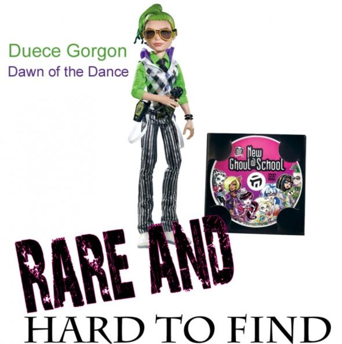 Duece Gorgon Dawn of the Dance Monster High Doll