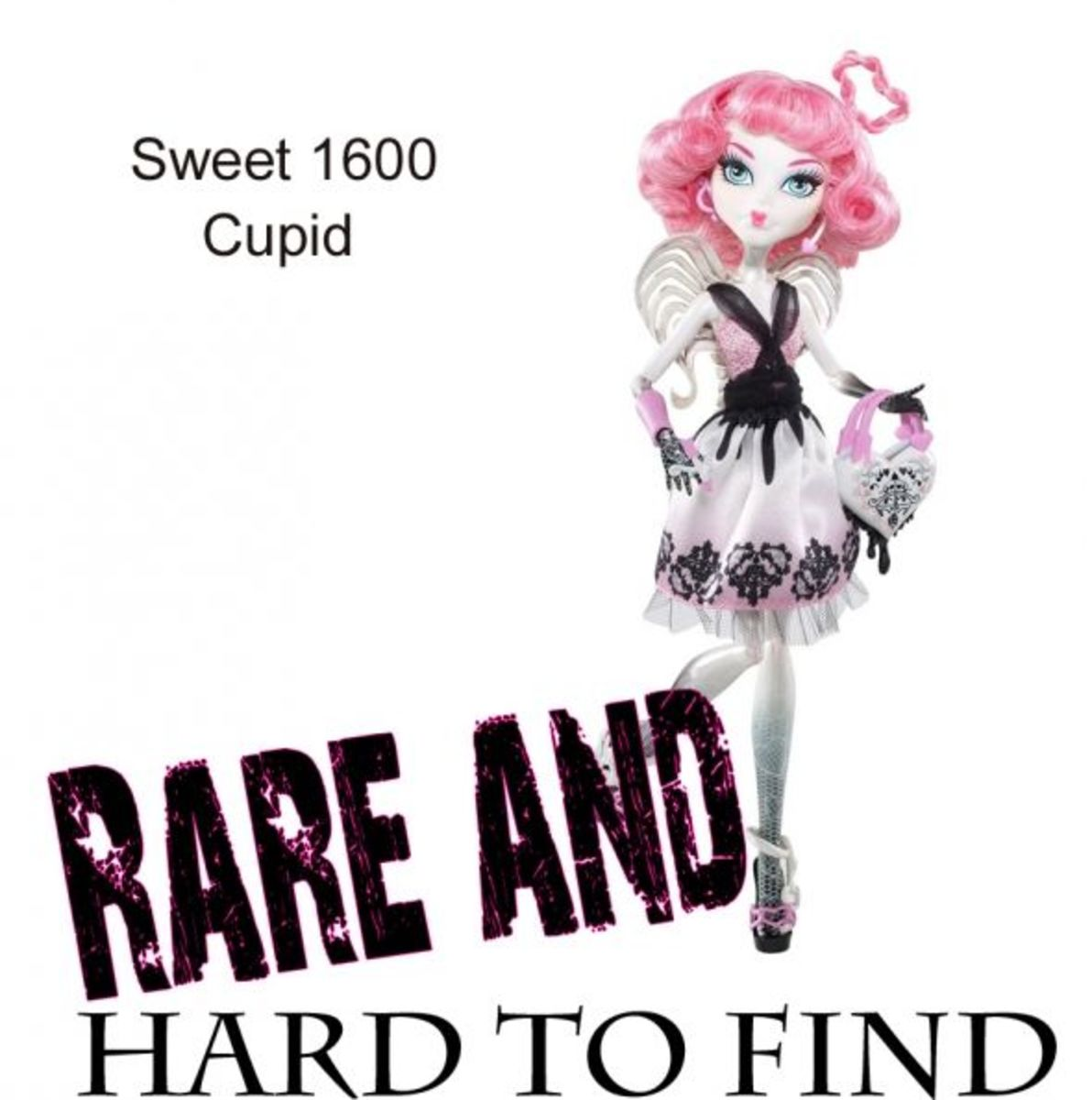 Rare Cupid Sweet 1600  Monster High Doll Collectible