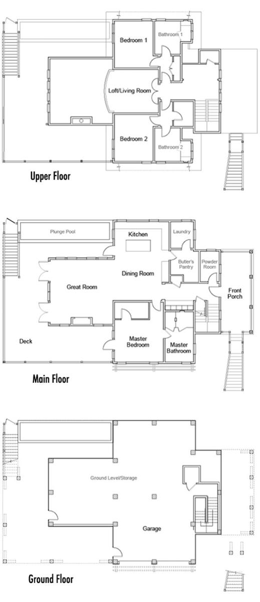 Hgtv Dream Home Plans - dream homes 3d floor plans dreamhouse ...