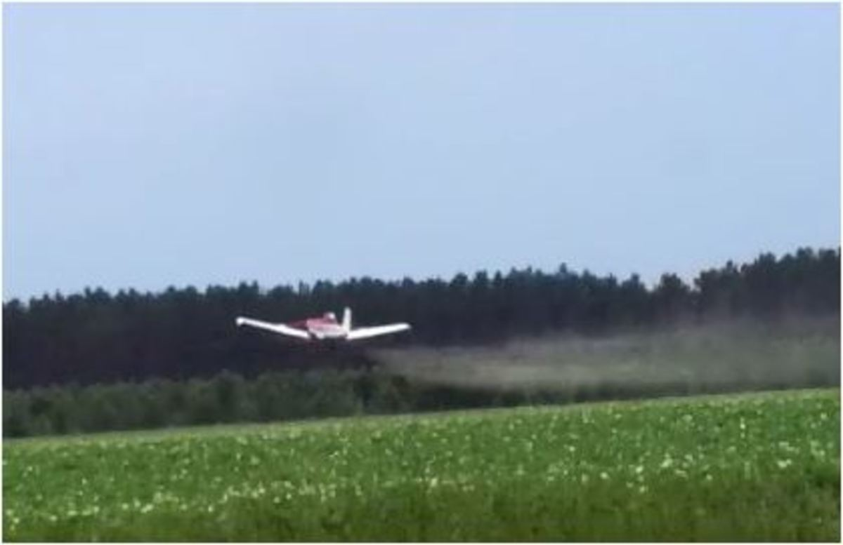 The Plane Will Be Back. The Danger Of Crop Dusting And Pesticide Exposure.