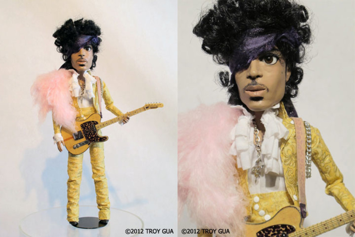 The Prince doll and the Art of Troy Gua