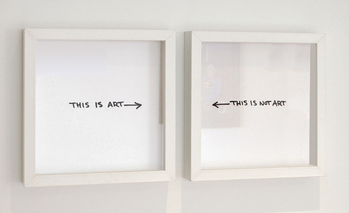 'This is Art -    - This Is Not Art'