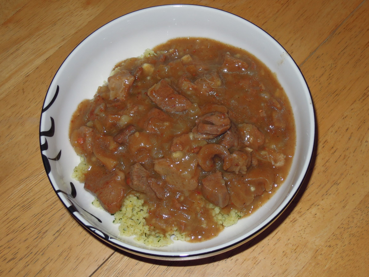Lamb and Fig Tagine with Couscous
