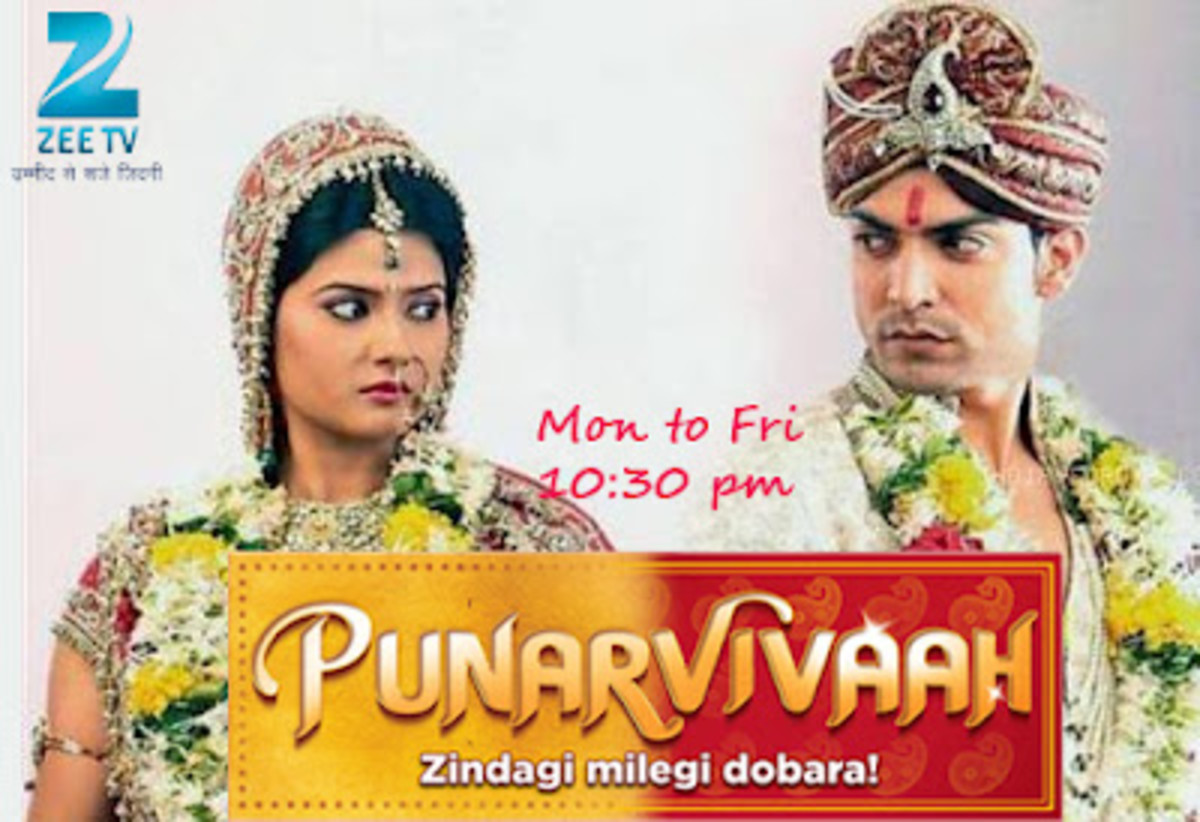 The Serial Punar Vivaah on Zee TV tells the story of a marriage of convenience between the main protagonists Aarti (Kratika Sengar) and Yash (Gurmeet Choudhary) for the sake of their children.